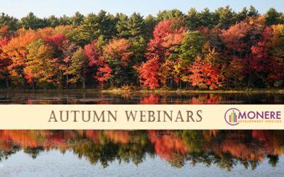 Autumn Webinars 2021